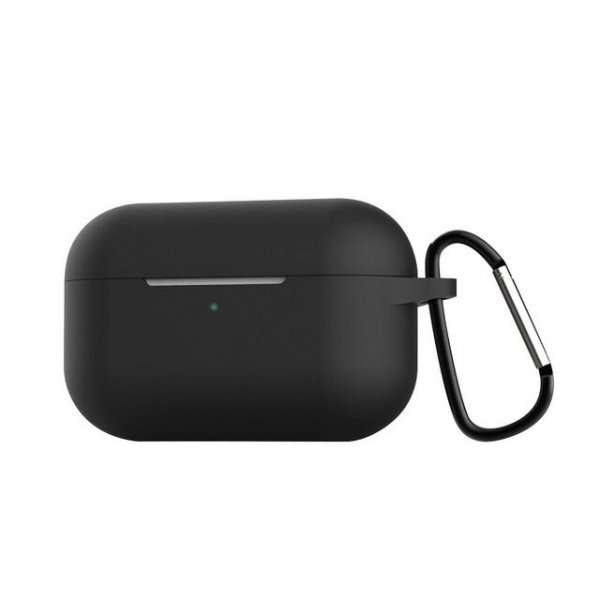 Θήκη ακουστικών silicone για Apple Air Pods Pro 3 Hook Charging Box Black