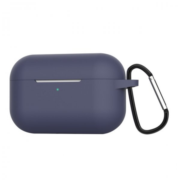 Θήκη ακουστικών silicone για Apple Air Pods Pro 3 Hook Charging Box Blue