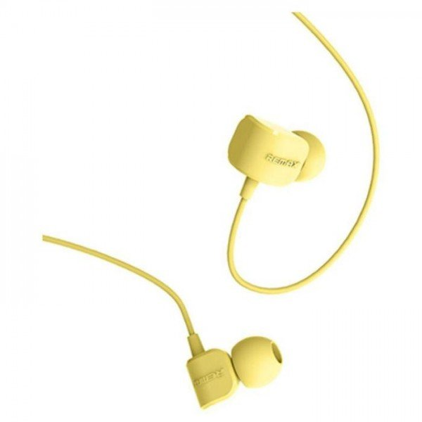 REMAX Ακουστικά Hands Free Crazy Robot RM 502 - Yellow