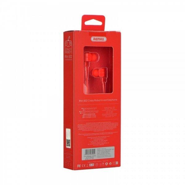 REMAX Ακουστικά Hands Free Crazy Robot RM 502 - Green