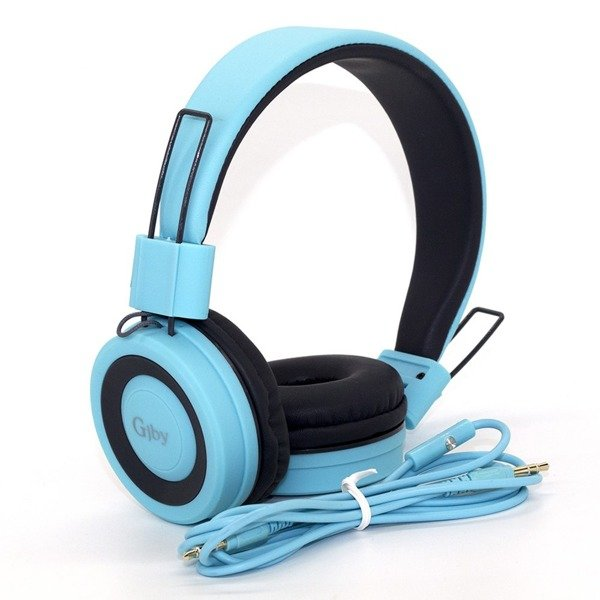 GJBY - ακoυστικά BLUETOOTH GJ-14  in Light Blue