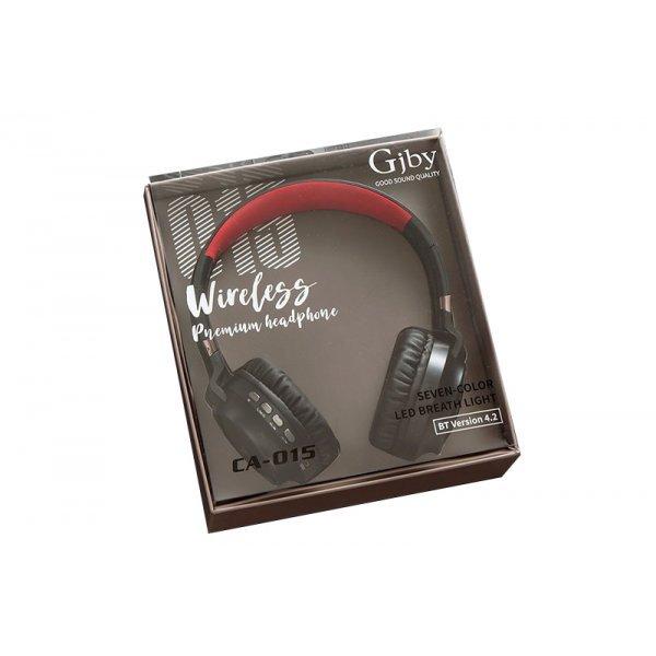 GJBY Ακουστικά - BLUETOOTH CA-015 Κόκκινο