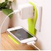 Wall charger phone holder White