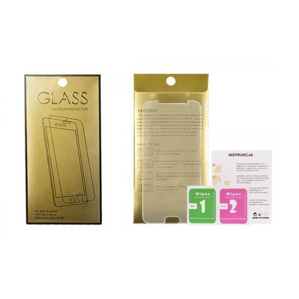 OEM Glass Gold Tempered Glass - iPhone 7/8