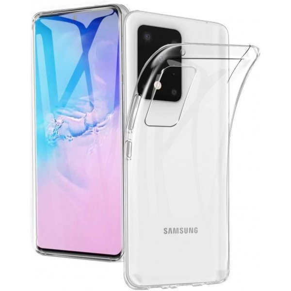 Samsung Galaxy S20 case Cover Transparent Silicone Soft TPU - Clear