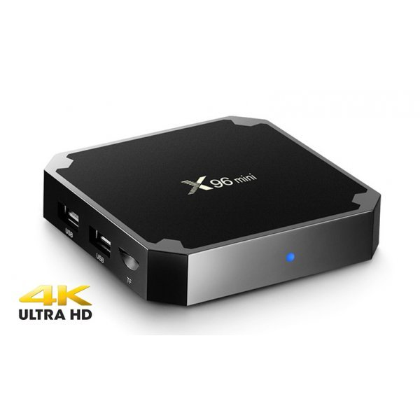 X96 MINI Android TV Box 4K With Amlogic S905W RAM 1Gb,Flash 8Gb, Quad Core Android 7.1.2