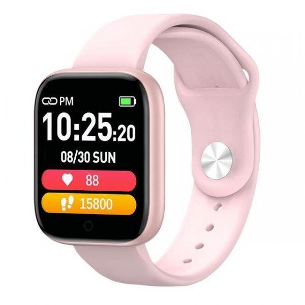 T85 IP67 Αδιάβροχο Smartwatch Fitness Tracker Pink