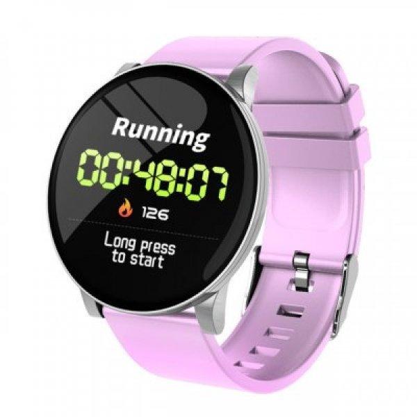 W8 IP67 Αδιάβροχο Smartwatch Fitness Tracker Pink