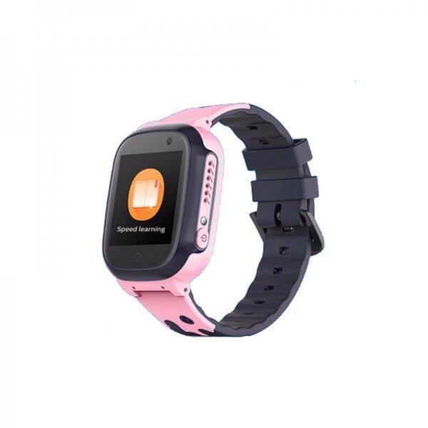 Smartwatch A41 Για Παιδιά, SOS Επείγουσα Κλήση, Συμβατό με iOS και Android - Ροζ