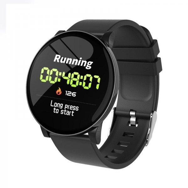 W8 IP67 Αδιάβροχο Smartwatch Fitness Tracker Black