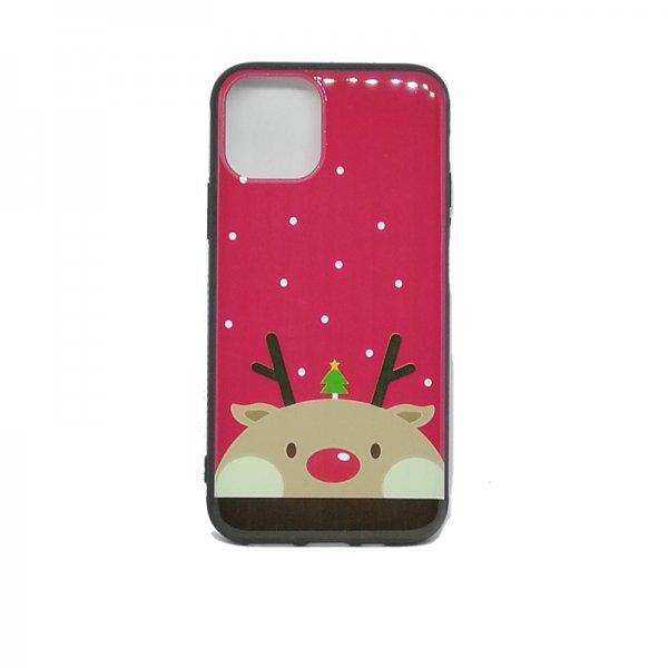 Χριστουγεννιάτικη Θήκη για Iphone 11 Pro Rudolf