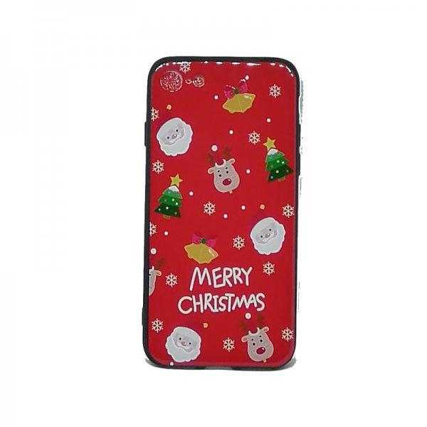 Χριστουγεννιάτικη Θήκη για Iphone 7 / 8 Santa Faces