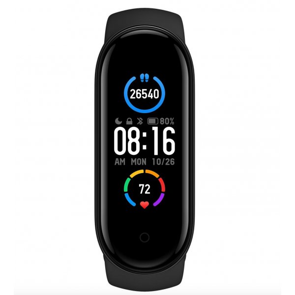 ΟΕΜ Μ5 Smart bracelet bluetooth smartwatch με καταγραφή βημάτων, ύπνου & καρδιακών παλμών