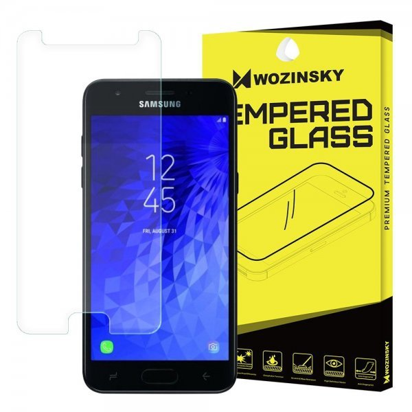Wozinsky Tempered Glass 9H Screen Protector for Samsung Galaxy j7 2018