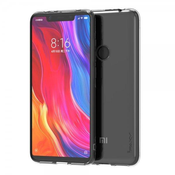 iPaky Effort TPU Θήκη + 9H tempered glass για Xiaomi Redmi Note 6 Pro , Διάφανη