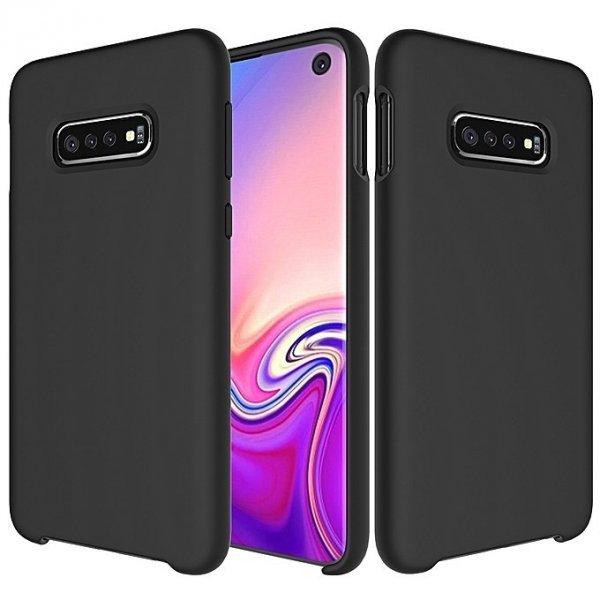 ΟΕΜ Silicone Case Soft Flexible Rubber Cover για Samsung Galaxy S10e, Μαύρη