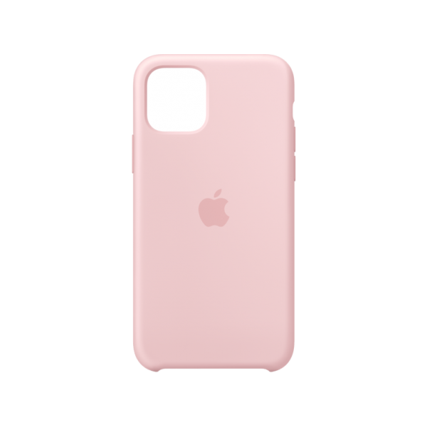 Apple Silicone Case iPhone 11 Pro Pink Sand