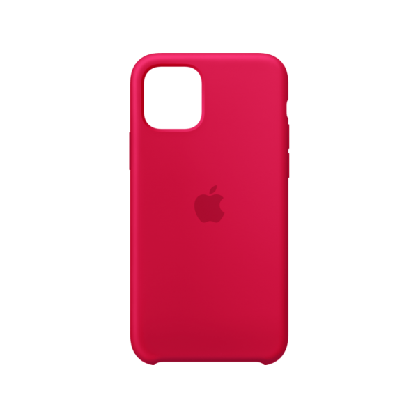 Apple Silicone Case iPhone 11 Pro Red