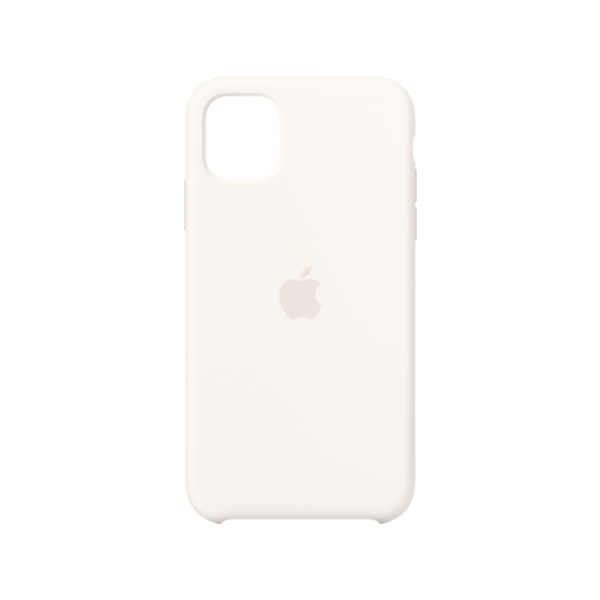 Apple Silicone Case iPhone 11 Pro Max White