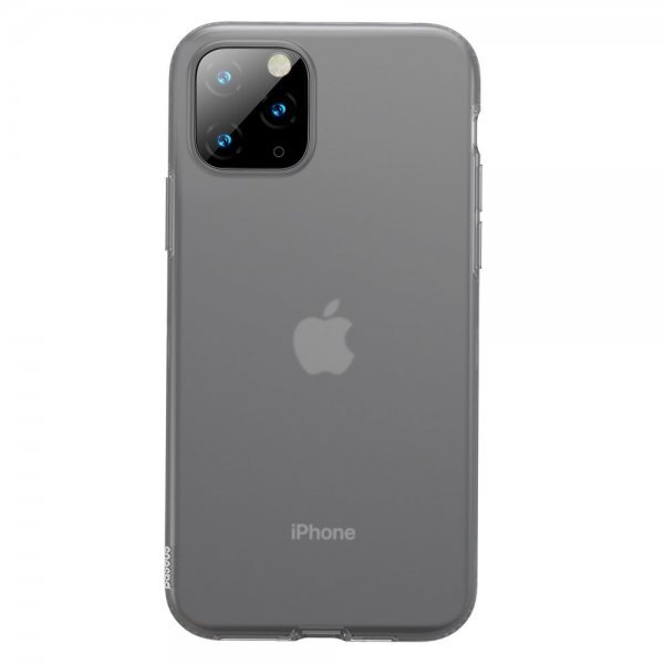 Baseus Jelly Case gel cover for iPhone 11 black (WIAPIPH61S-GD01)