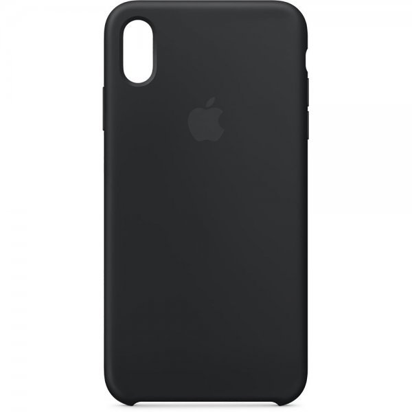 iPhone XS Max Silicone Case (Black)