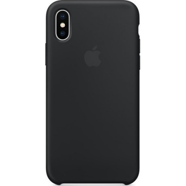iPhone XR Silicone Case (black)