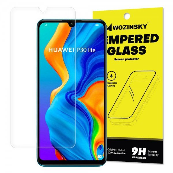Wozinsky Tempered Glass 9H Screen Protector for Huawei P30 Lite (packaging – envelope)