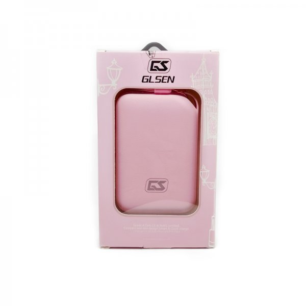 GLSEN Power Bank - P8 Series - 8800mAh Quick Charge, Pink