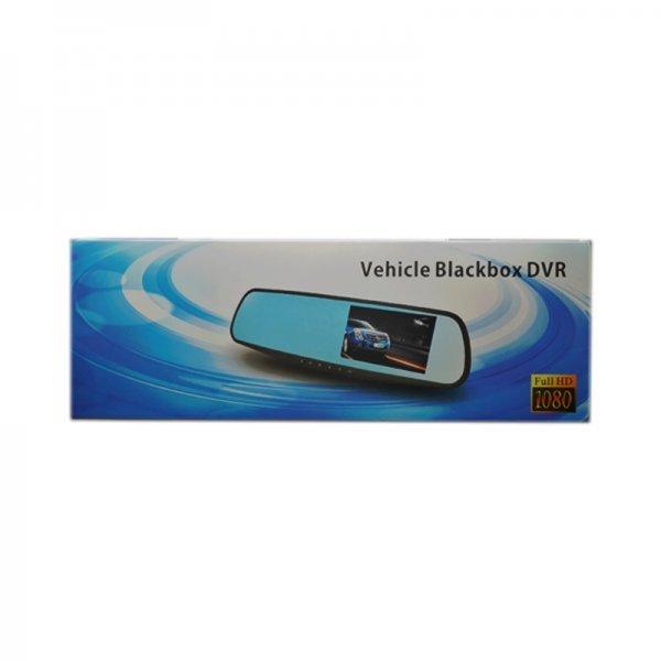 OEM Καθρέφτης Καταγραφής με Μπροστινή και Πίσω Κάμερα Vehicle – Blackbox Dvr 4.3
